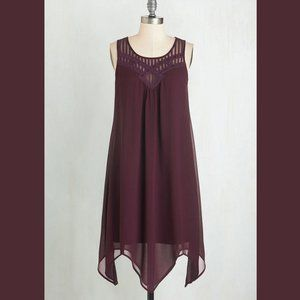 NWOT Doe & Rae for ModCloth Purple Dress